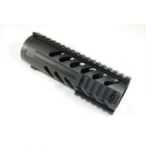 "7"" large diameter free float rail system for ar15"