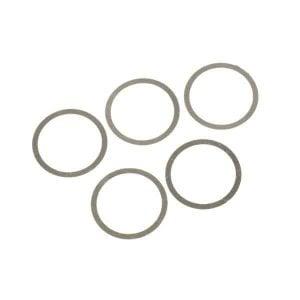 set of 5 AR15 barrel nut shims 1mm thick each