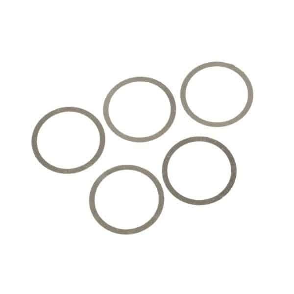 set of 5 AR15 barrel nut shims 1mm thick each