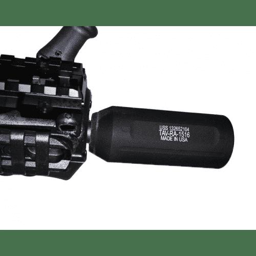 AR-15 Tavor Slip Over Fake Suppressor installed