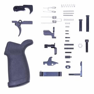 308 Lower parts kit with rubber grip complete