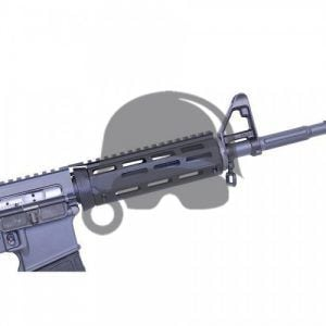 AR-15 2 Piece Drop in Aluminum M-LOK GI Standard Handguard Replacement mounted on AR-15