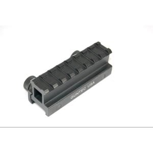 1 Inch Short Length Picatinny AR Riser Mount