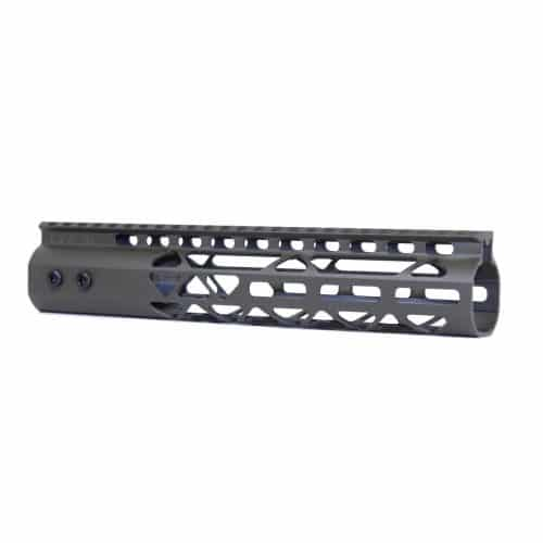 "AR-15 10"" M-LOK Diamond Series Free Float Handguard In OD GREEN"