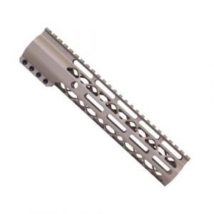 "10"" Length Air-Lok Compression M-LOK Free Float Handguard in Magpul FDE"