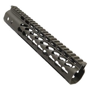 "AR15 KeyMod Free Float 10"" Spector Length Handguard In OD Green"