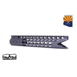 AR-15 KeyMod 11.5 Octagonal Shark Cut Free Float Handguard In Black