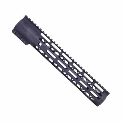 "12"" Length Air-Lok Compression M-LOK Free Float Handguard in Black"