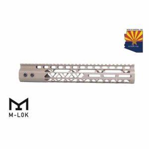 "AR15 Diamond Series M-LOK 12"" Free Float handguard IN FDE"