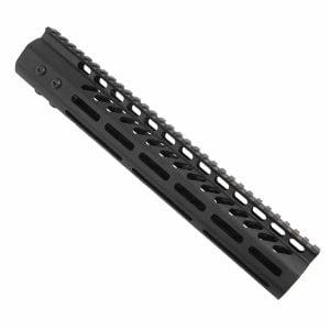 "LR 308 12"" Free Float Ultra Light Slim Profile M-LOK Handguard"