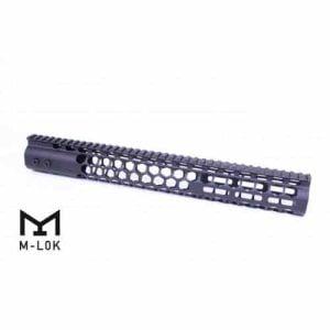 "AR15 Honeycomb Series M-LOK 15"" Free Float Handguard In Black"