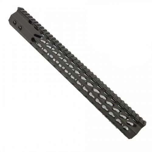 AR-15 Octagonal KeyMod 15 Inch Handguard – OD Green