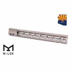 "AR-15 15"" Mod Lite Series M-LOK Handguard In FDE"