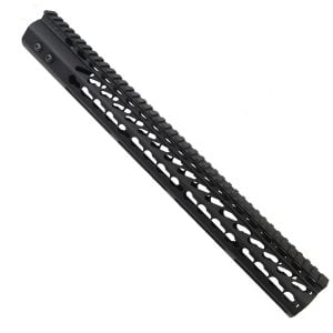LR 308 16.5 inch Free Float Ultra Light Slim Profile KeyMod Handguard