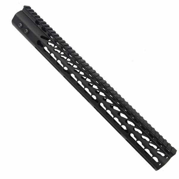 LR 308 16.5 inch Free Float Ultra Light Slim Profile KeyMod Handguard