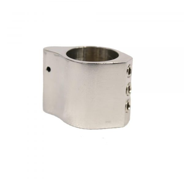 Stainless Steel Low Profile Gas Block