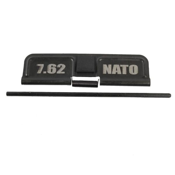 7.62 Dust Ejection Port Cover in Nitride Finish Laser Etched 7.62 NATO