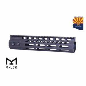 "AR-15 Octagonal M-LOK Free Float 9"" Handguard In Black"