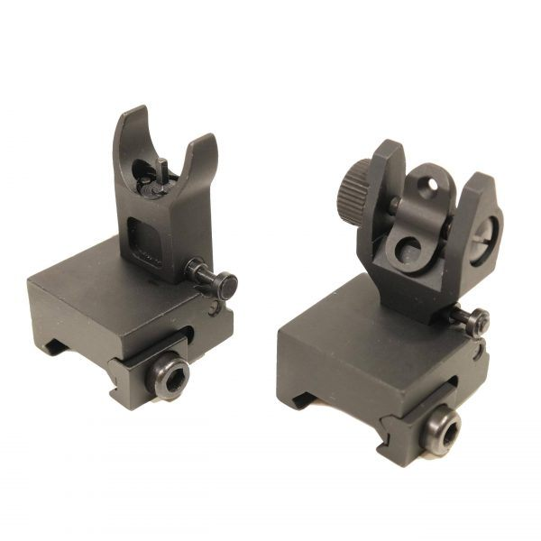 AR-15 Slim Profile Back Up Iron Sights BUIS