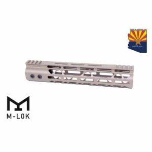 """AR-15 10"""" Mod Lite Series M-LOK Free Float Handguard In FDE"""