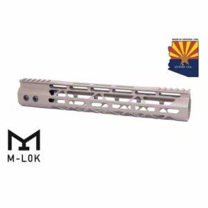 """AR-15 12"""" Mod Lite Free Float M-LOK Handguard In FDE"""