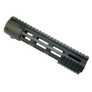 AR-15 .308 Free Float 10″ Mid-Length Quad Rail Handguard With Removable Rails