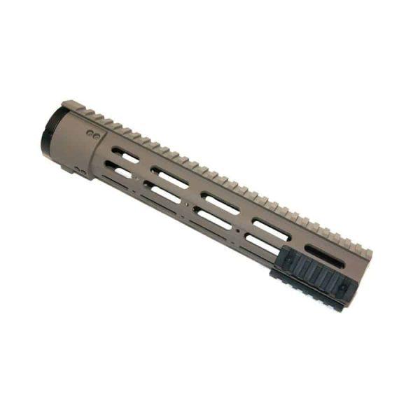 AR-15 Rifle Length 12″ Free Float Modular Rail System Slim Profile in Magpul Dark Earth