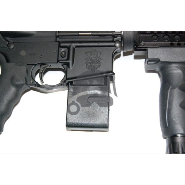 AR-15 Lower Receiver Vice Block in use