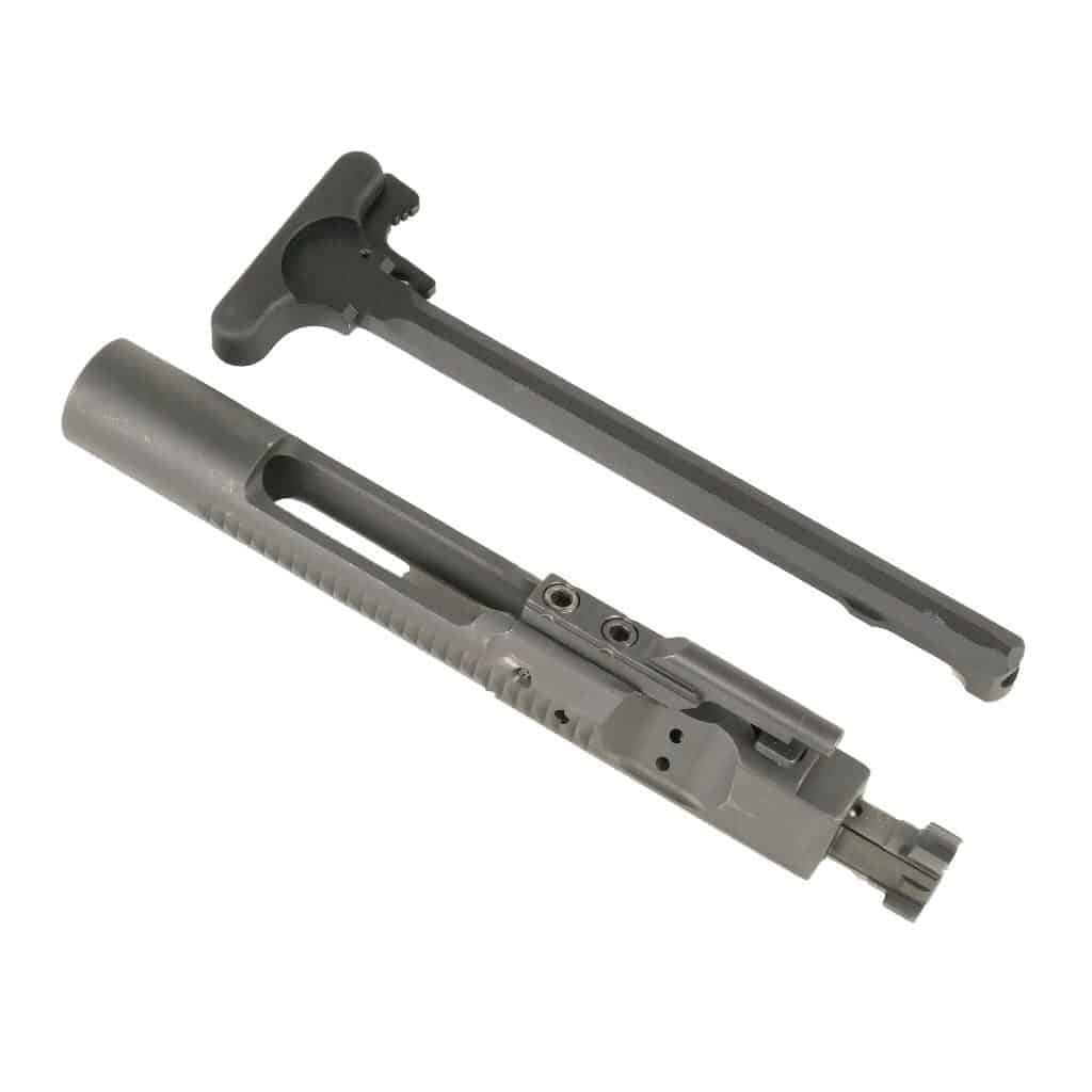 Bolt Carrier Group Nitride Finish & Charging Handle Combo