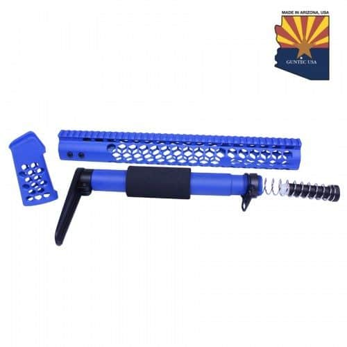"""AR-15 Complete """"Honeycomb Series"""" Furniture Set In Blue"""