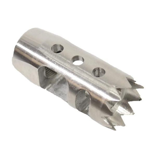 Centurion AR-15 Muzzle Brake Device in Stainless Steel