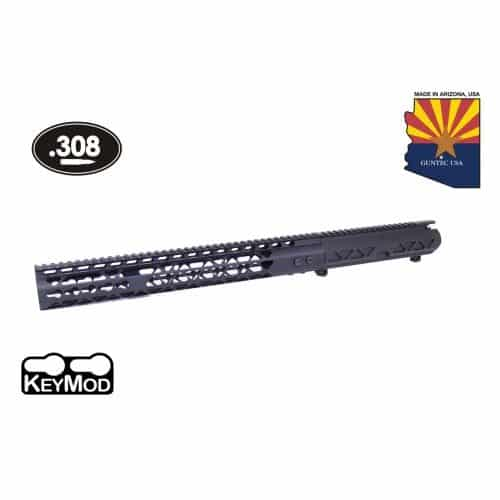 LR 308 Air Lite Stripped Upper And Air Lite Hand Guard Combo Set