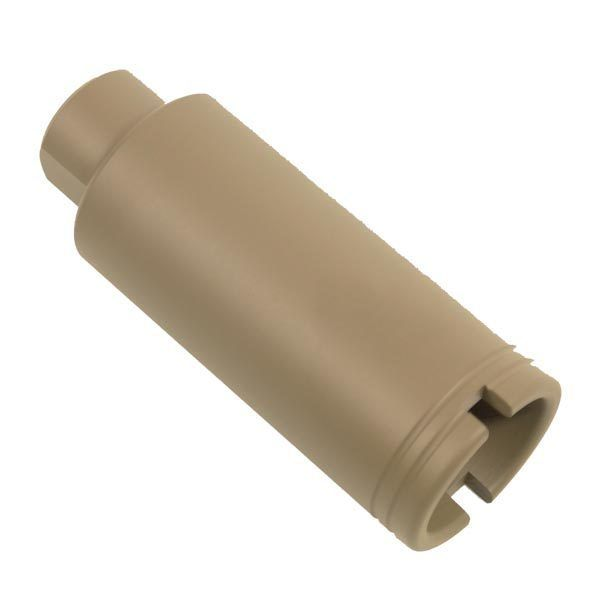 AR-15 Flash Hiding Slim Pig Cone in Magpul Flat Dark Earth