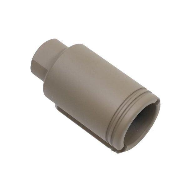 AR-15 Short Flash Hiding Slim Pig Cone in Magpul Flat Dark Earth