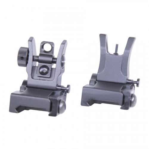 AR-15 Slim Profile Back Up Iron Sights Gen 2