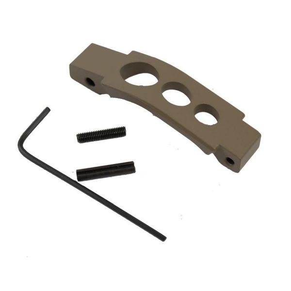 AR15 Extended Trigger Guard In FDE
