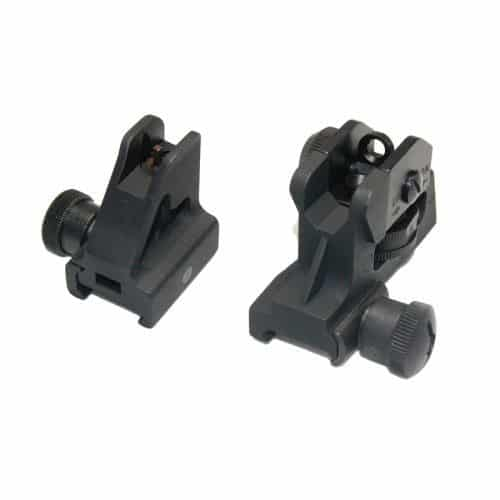 AR-15 Fixed Front / Rear Back up Iron Sight Sets
