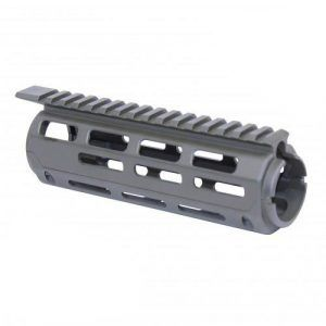 AR-15 2 Piece Drop in Aluminum M-LOK Carbine Handguard Replacement in OD Green
