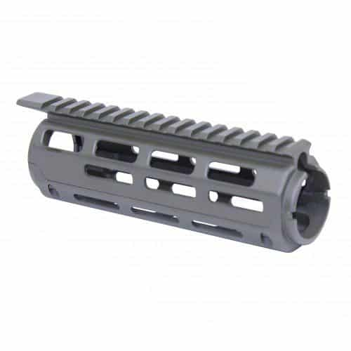AR-15 2 Piece Drop in Aluminum M-LOK Carbine Handguard Replacement in OD Green