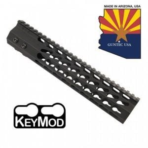 "AR-15 10"" Octagonal Free Float Keymod Handguard in Black"