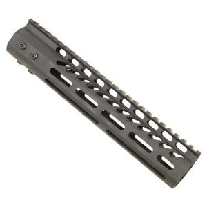 "AR-15 M-Lok 10"" Free Float Ultra Light Rail System In Black"