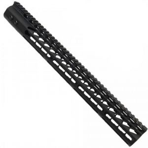 "AR-15 16.5"" KeyMod Free Float Handguard in Black"