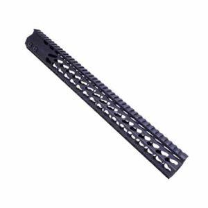 AR-15 16.5″ KeyMod Octagonal Free Float Handguard – Black