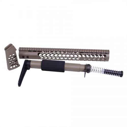 AR-15 Stinger Series Complete Furniture Kit in FDE