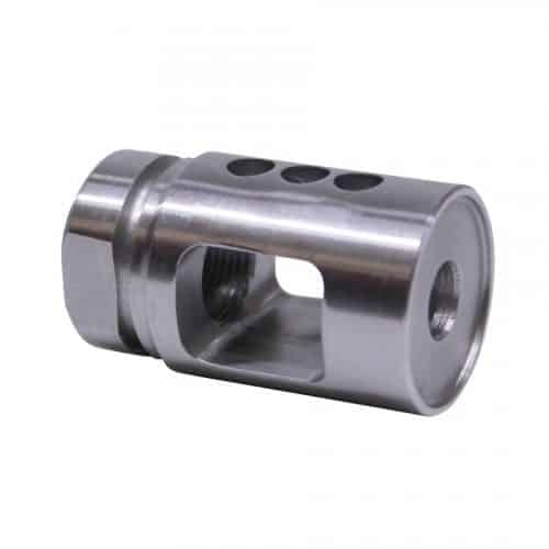 AR-15 Stainless Steel Micro Compensator