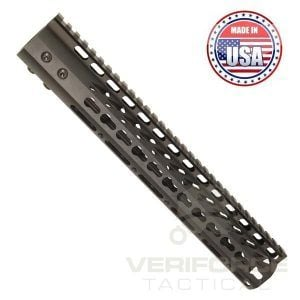 AR-15 KeyMod Free Float 12″ Handguard In Black