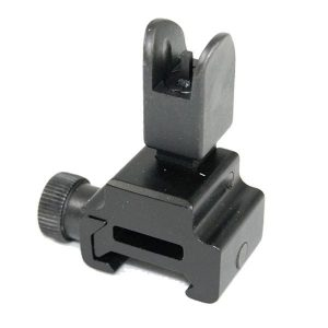 Flip Up GAS BLOCK Height Front Sight in Aluminum