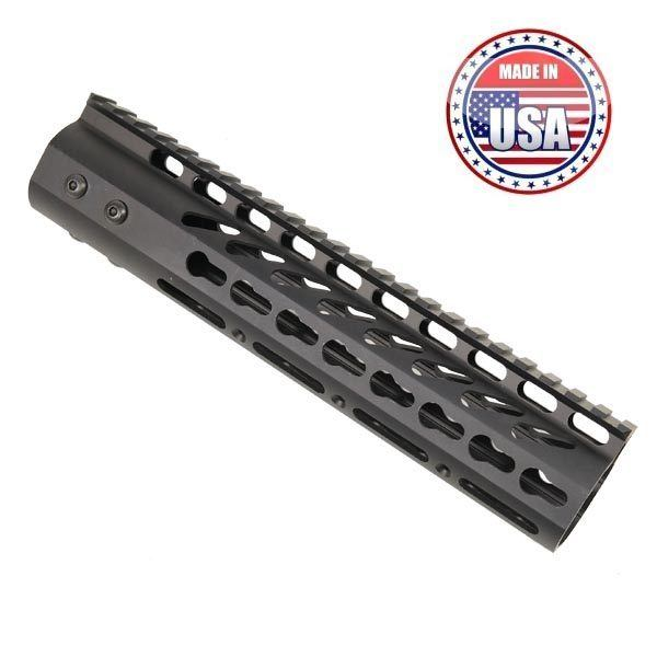 "AR15 KeyMod Free Float 9"" Mid-Length Handguard Rail"