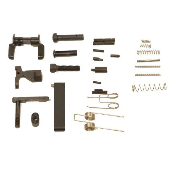 AR15 Lower Parts Kit With Out Fire Control Group and Grip