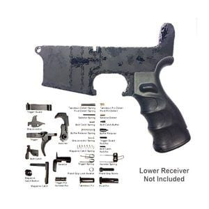 AR-15 lower parts kit complete Mil-Spec